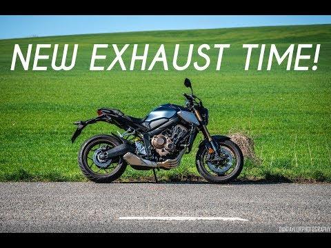 2019 Honda CB650R   Black Widow Exhaust Part 1   Unboxing!