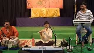 Bansuri concert by Ma.Shashanka Subrahmanya at Sri Ramachandrapura Mutt  Part 2