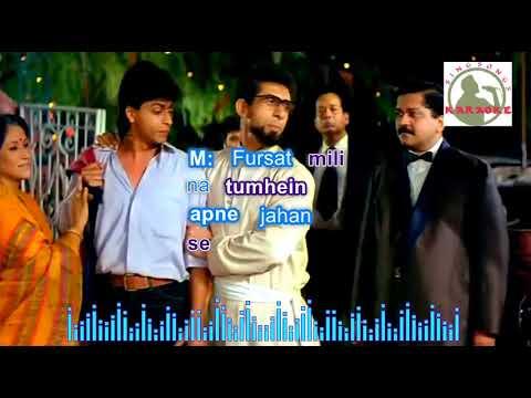WOH TO HAI ALBELAAH  hindi karaoke for Male singers with lyrics (ORIGINAL TRACK)