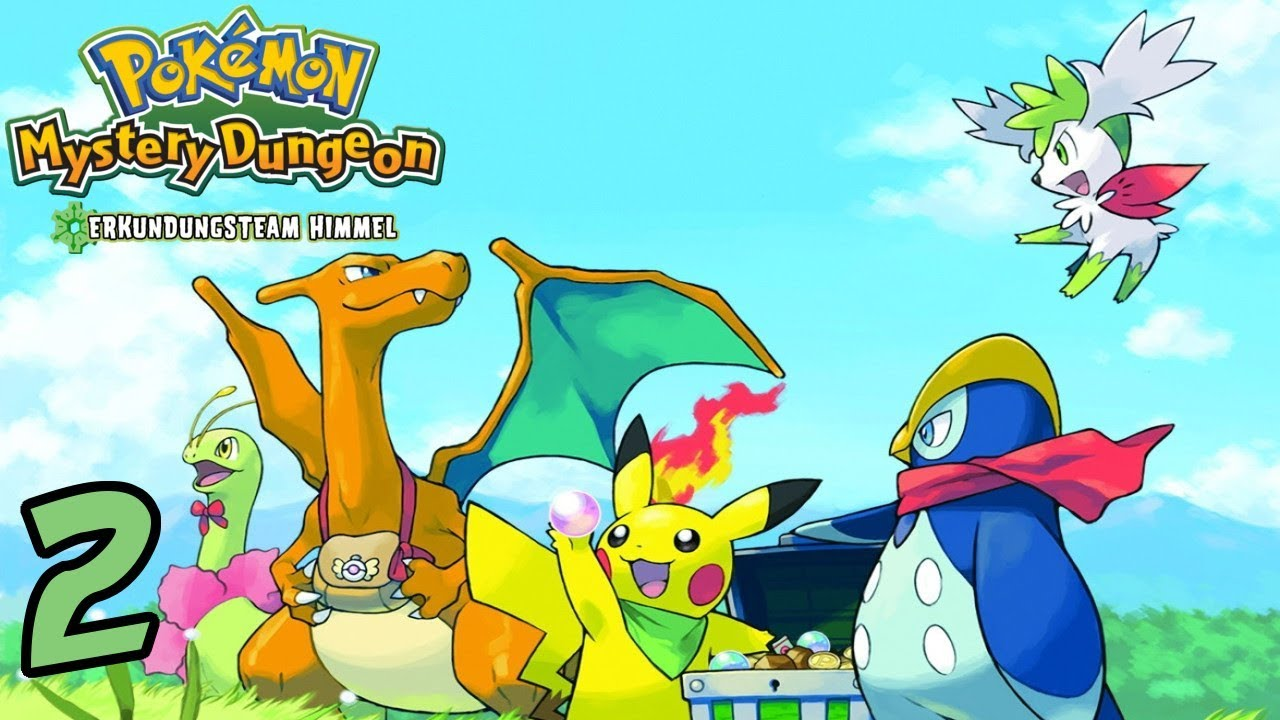 pokemon mystery dungeon erkundungsteam himmel nds