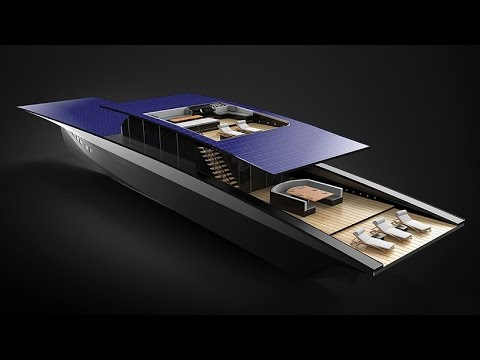 Duffy London Concept Yacht with solar-powered Technology