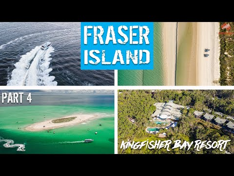 Fraser Island 2020 | Part 4 | Eco Stay At KINGFISHER BAY RESORT + BOAT ADVENTURES