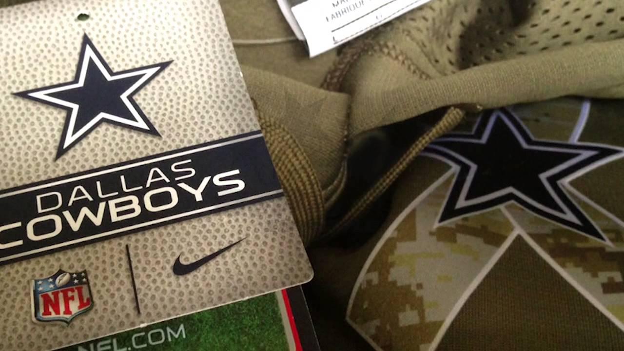 Previamente complicaciones período  Sudadera NFL Salute To Service Dallas Cowboys Nike Venta en Be Pro  Lifestyle - YouTube