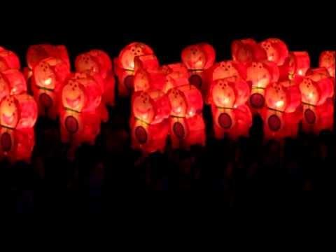 Đêm rước đèn trung thu ở Phan Thiết năm 2011