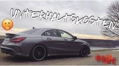 DAS kostet mich mein Mercedes-Benz CLA 45 AMG im Unterhalt! | Unterhaltskosten