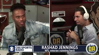 Rashad Jennings: Eli Now has LESS Pressure on Him I D.A. on CBS
