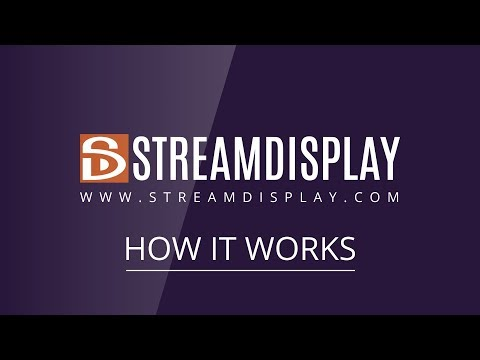 StreamDisplay - Your brand new Digital Signage experience (English)