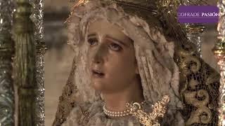 Virgen de los Dolores (Nazareno) por Plocia, Sto Domingo y C/ Sto. Domingo (Semana Santa Cádiz 2019)