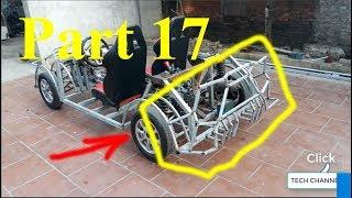 Homemade Lamborghini car part 17 - Lamborghini tailgate