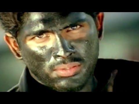 Bunny Movie || Allu Arjun Making Raghu Babu Eye Donation Action Scene