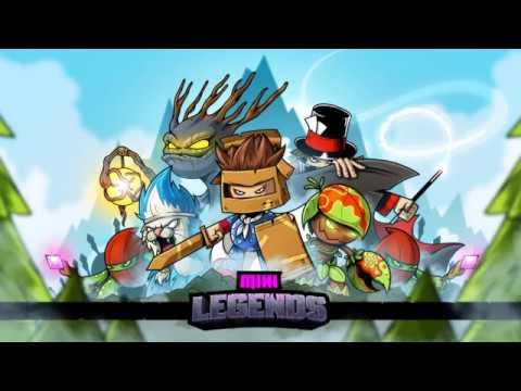 Mini Legends Mobile game trailer Beta
