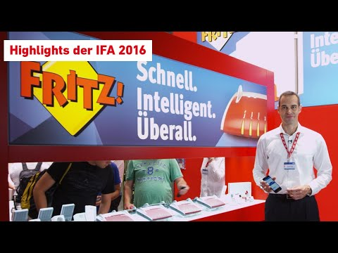 Die FRITZ!-Highlights zur IFA direkt vom Messestand