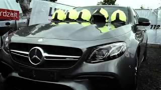 Feuerwehr ZERSTÖRT nagelneuen Mercedes-AMG E 63 S 4MATIC