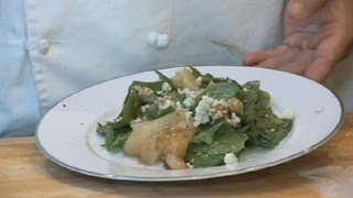 Recipes For Pear, Blue Cheese & Spinach Salad : Desserts & Salads