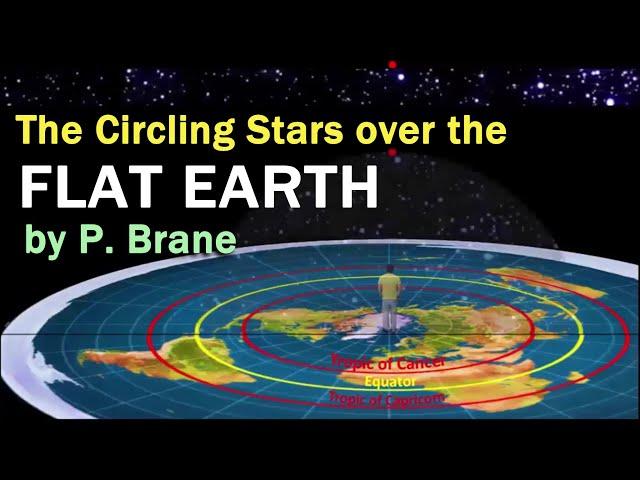 The Circling Stars over the F.L.A.T - E.A.R.T.H  by P. Brane