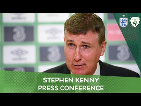 PRESS CONFERENCE | Stephen Kenny on the England match & the week ahead
