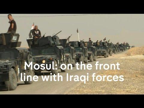 Islamic State: on the front line with Iraqi forces
