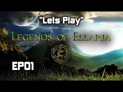 Lets Play | Legends of Ellaria | EP01