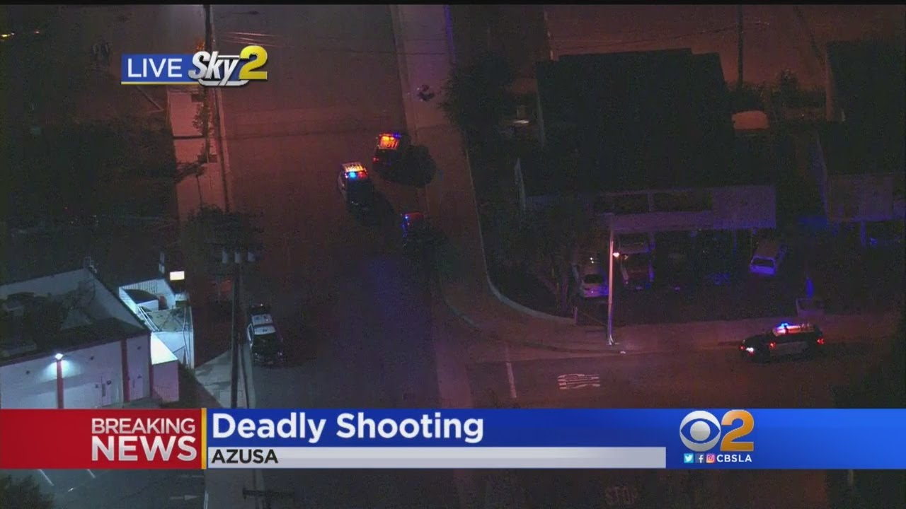 At Least 2 Killed In Shooting Near Azusa Pacific University