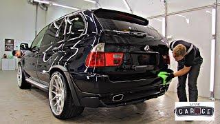 Кварцевое стекло GYEON QUARTZ для BMW X5 E53 4.8iS!!!