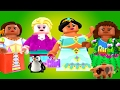 Disney Lego Princess Dress up Game - Play Fun Games for Kids and Toddlers