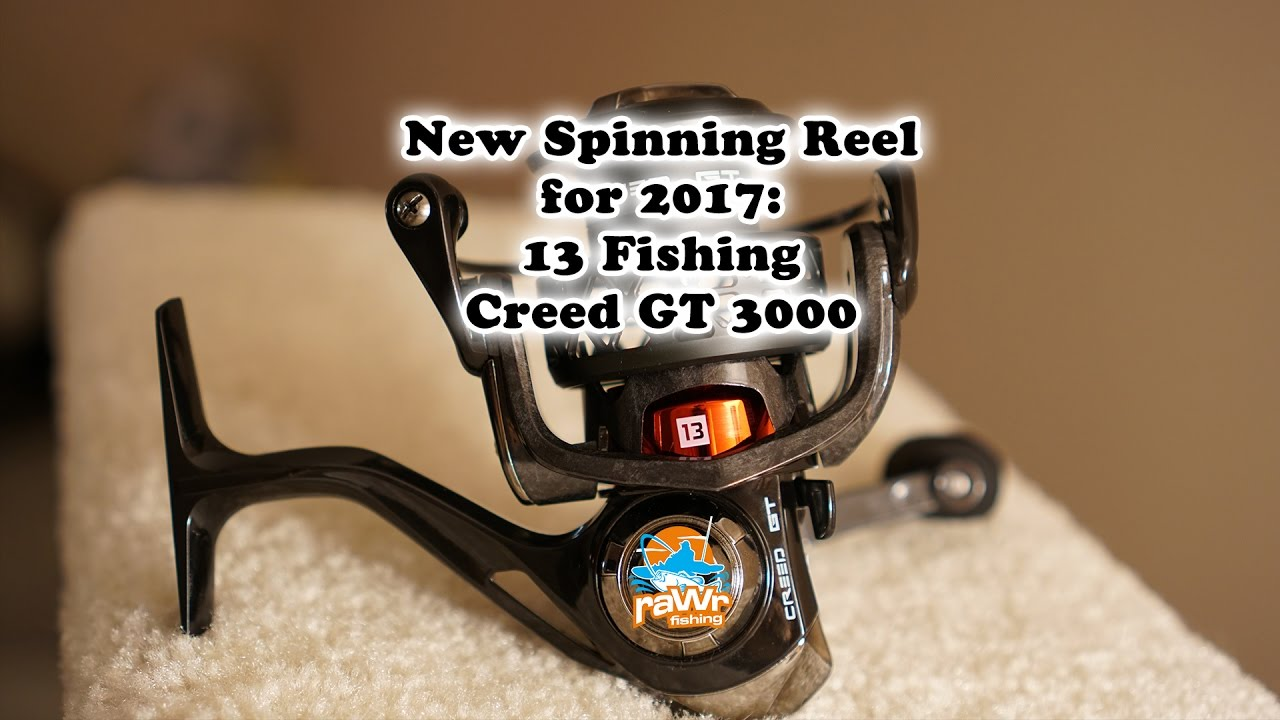 My new reel 13 fishing creed gt long back order youtube for 13 fishing creed gt