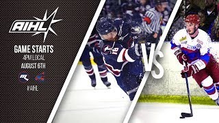 AIHL Live Game 91: Newcastle Northstars @ Melbourne Ice (06/08/2017)