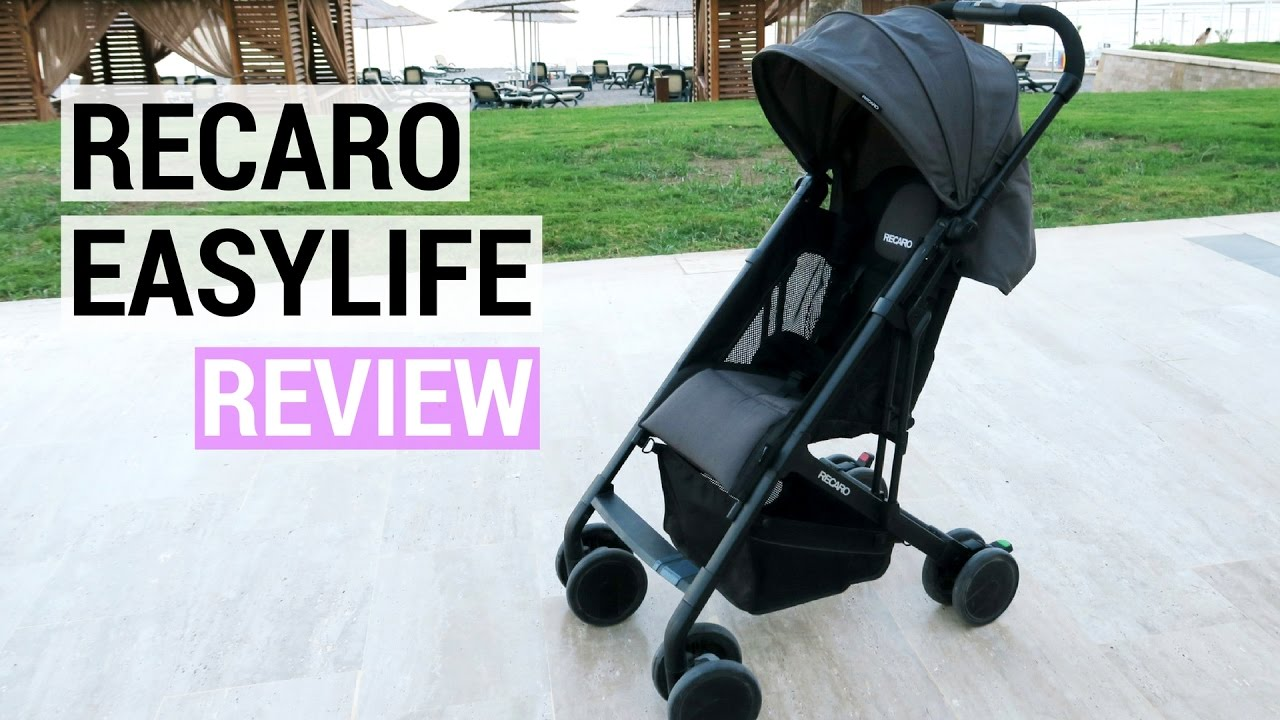 Recaro Easylife Stroller Review Best Travel Stroller 2016