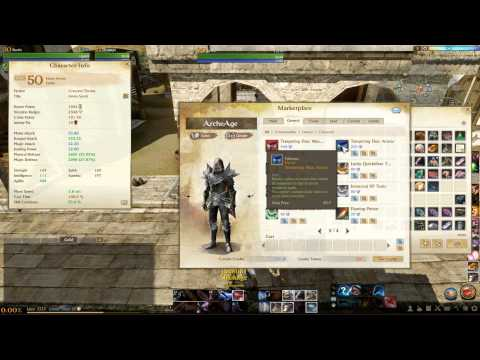 Weapon Crafting Archeage Guide