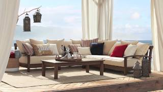 Outdoor Living: Pillows And Other Accessories | Pottery Barn
