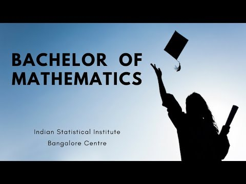 BMath course at Indian Statistical Institute Bangalore