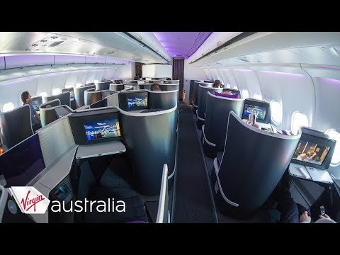 "Virgin Australia Airbus A330 ""the business"" Business Class Perth-Sydney incl. Perth Airport Lounge"