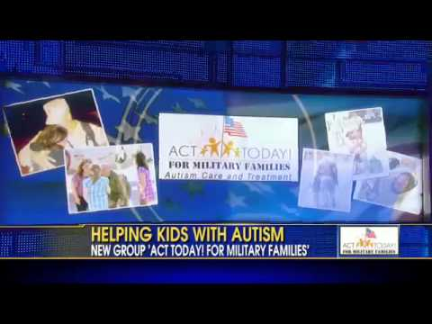 Fight Against Autism - FOX and Friends Interviews Actor Mark Christopher Lawrence