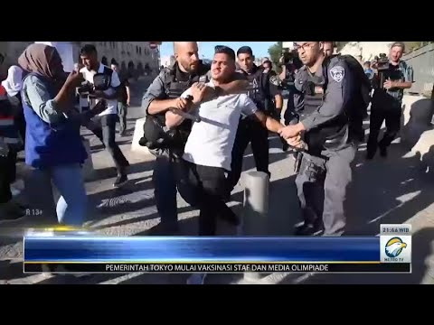 Israel Serang Warga Palestina di Yerusalem