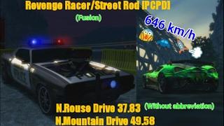 Burnout Paradise PC - Revenge Racer/Street Rod PCPD (FUSION) [646 km/h]