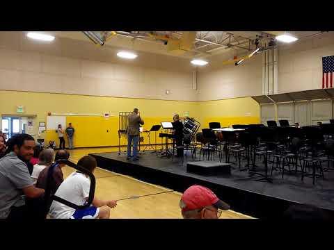 Eldorado Middle School Percussion Group