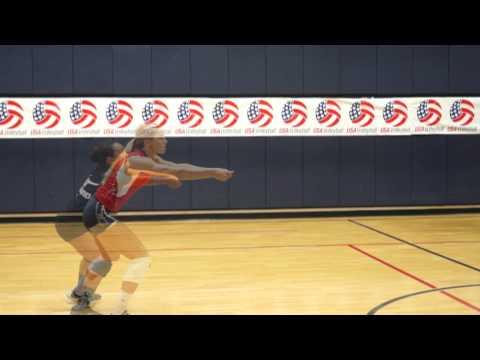 USAV Skill Video Forearm Passing