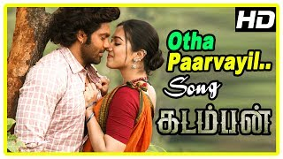 Video Kadamban Tamil Movie | Otha Parvayil Song | Ranger Arrests Arya |Catherine Tresa| Yuvan Shankar Raja download MP3, 3GP, MP4, WEBM, AVI, FLV Agustus 2019