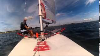 Skiff Blaze Sailing Veerse Meer NL 19 06 2014