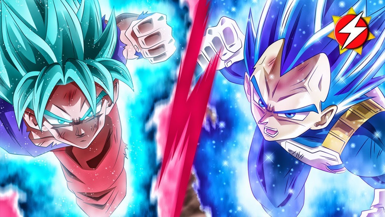 Vegeta 39 s new form ultra instinct kaioken mastered blue 2 which is it youtube - Mui goku wallpaper ...