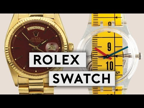 Collecting Rolex & Swatch: A Conversation With Denis Frison