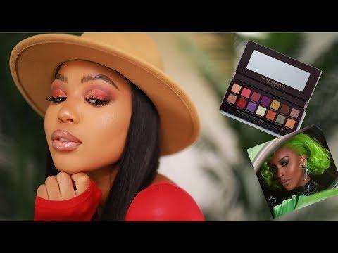 I tried the Jackie Aina X ABH palette thumbnail