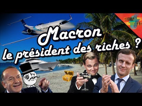 Comment Macron nous entube : ISF, Flate Taxe, APL…