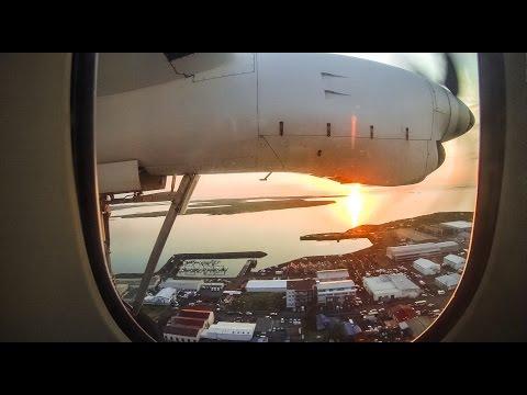 Isafjordur - Reykjavik || Air Iceland Fokker 50 TF-JMS || Full HD