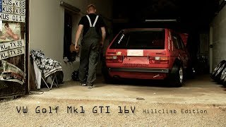 "VW Golf Mk1 GTI 16v ""Hillclimb Edition"" in Action!"