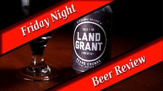 FRIDAY NIGHT BEER REVIEW: Land Grant - Beard Crumbs #oatmealraisinstout #landgrantbeer #ohiobeer