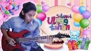 Lagu Anak-anak Selamat Ulang Tahun Guitar Cover By Mr. Jom