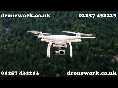 HD Drone footage of Parbold in Lancashire from DroneWorks.co.uk