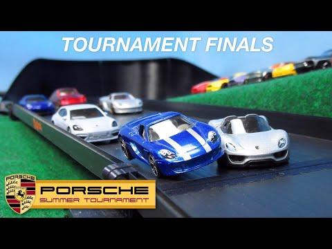 Porsche Tournament Finals | Hot Wheels Diecast Car Racing