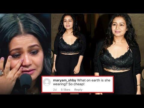 Neha Kakkar Fans INSULT Her For Wearing B0LD Dress After Breakup